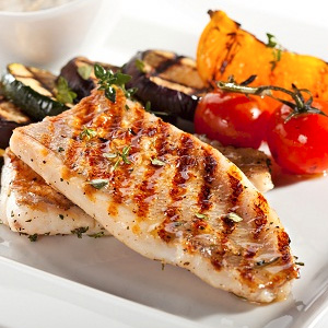 grilled line fish vip008